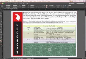 edit pdf in indesign
