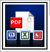 PDF to XLS, PDF to PPT, PDF to DOC