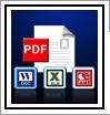 PDF to XLS, PDF to PPT, PDF to DOC