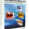 PDF to iWork, PDF to Pages, PDF to Keynote, PDF to Numbers
