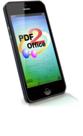 PDF to Office, Pages, Keynote, Numbers on iPhone