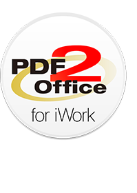 PDF to iWork, PDF to Pages, PDF to Keynote, PDF to Numbers