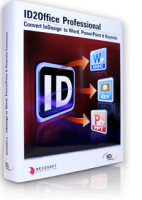 Convert InDesign to Word PowerPoint Keynote