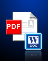 PDF to Word, Convert PDF to Word, PDF to doc