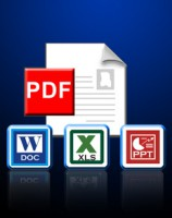 PDF to Excel, PDF to PPT, PDF to Word