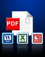 PDF to Excel, PDF to PPT, PDF to Word