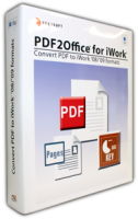 PDF to Numbers, PDF to Pages, PDF to Keynote, PDF