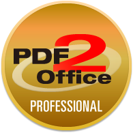 Convert PDF to Excel, Word, PowerPoint, OmniGraffle and others.