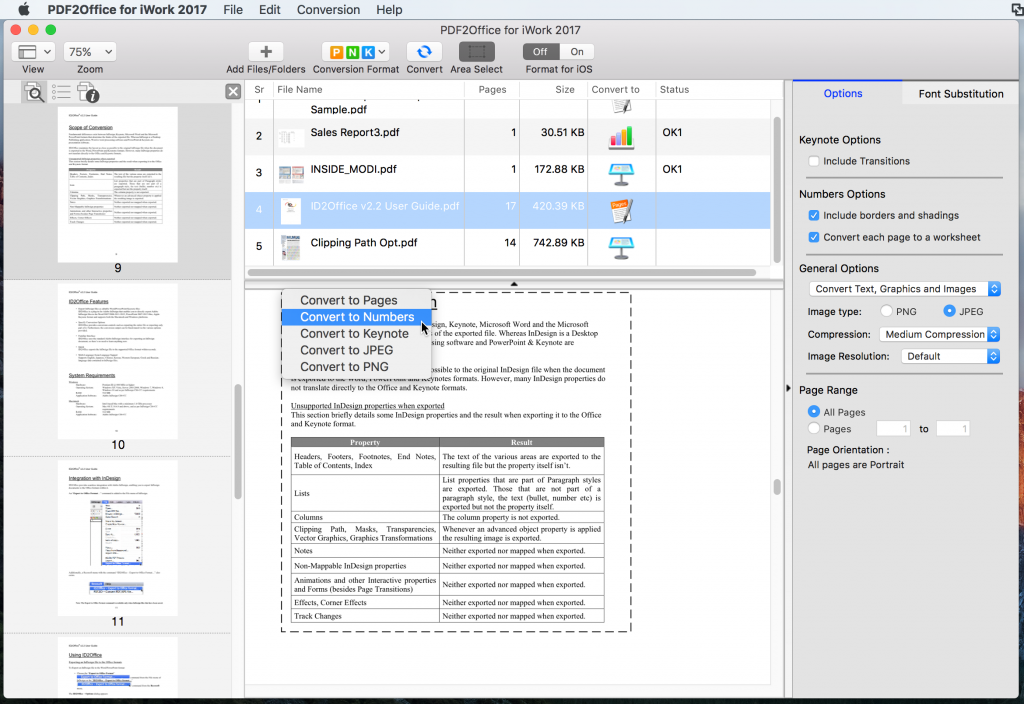You can edit the PDF in Apple Keynote after converting the file