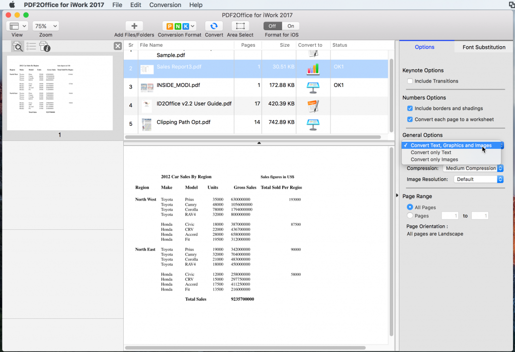 You can edit the PDF in Apple pages after converting the file
