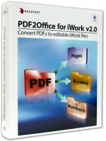 PDF to Numbers,PDF to Keynote, PDF to Pages
