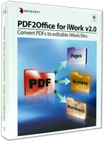 PDF to Numbers. PDF to Keynote. PDF to Pages.