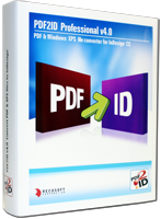 PDF-to-XML, PDF-to-InDesign