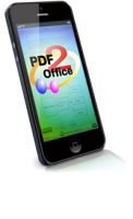 PDF2Office series for iPhone converts PDFs to editable Word, Excel, PowerPoint, Numbers, Keynote, Pages, JPEG and PNG files on the iPhone