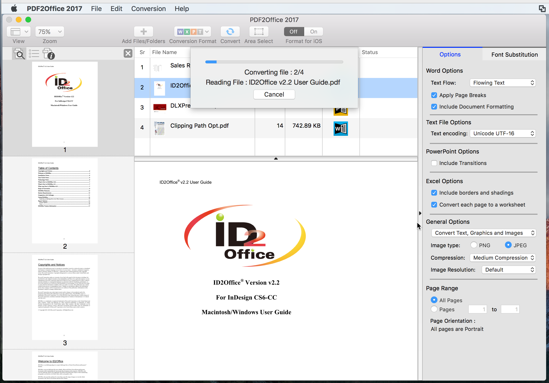 How to convert PDF to Word on Mac