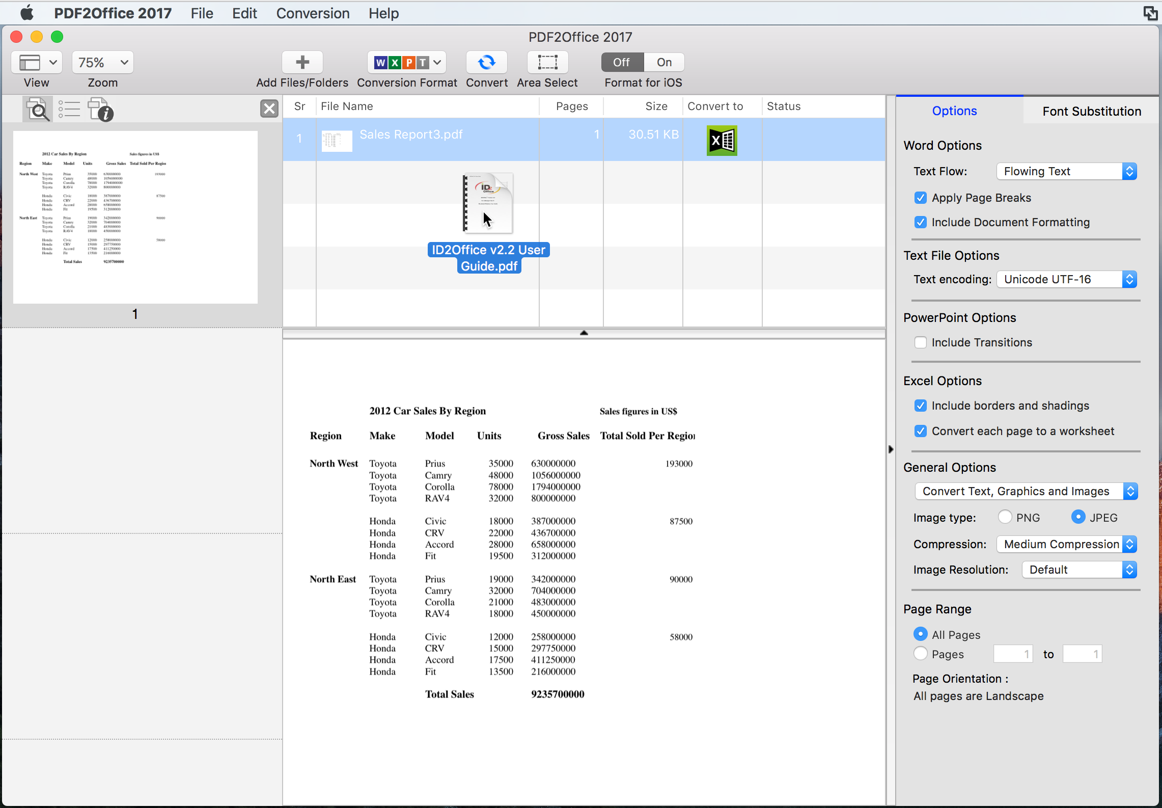 Converting PDF to Word on Mac