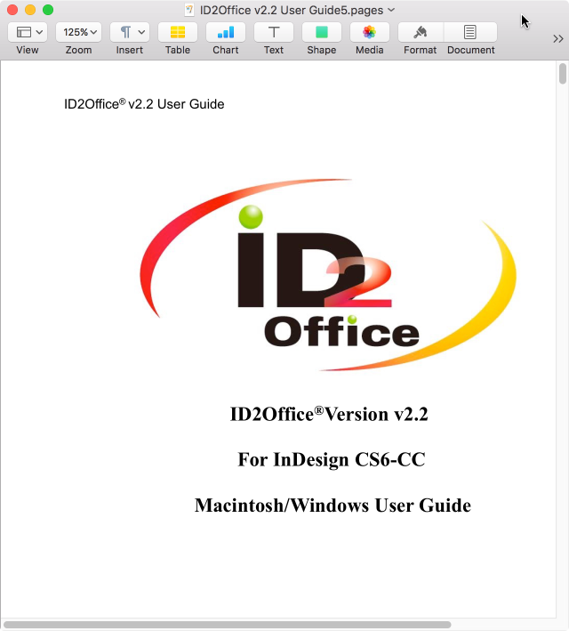 Convert PDF to iWork using PDF2Office on Mac