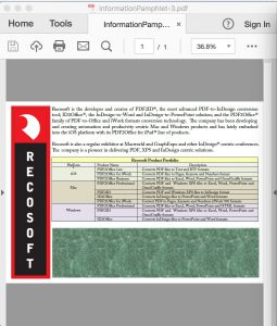 PDF2ID - Convert PDF to InDesign CC