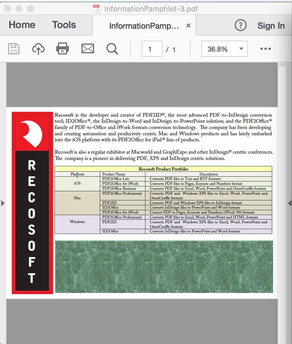 pdf to indesign converter free